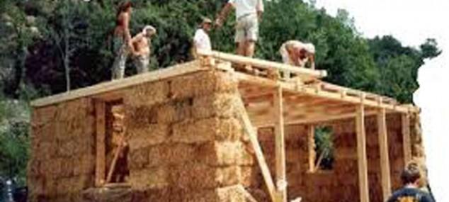 Bio-construcción con paja